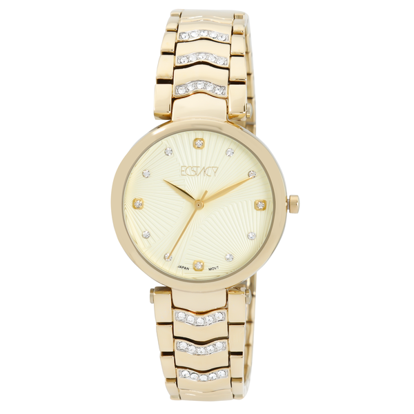 Ecstacy Women s Stainless Steel Band Watch E7520-GBGC