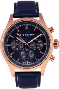 Giordano Men's Watch Multi Function Display- 1907-03, blue, blue