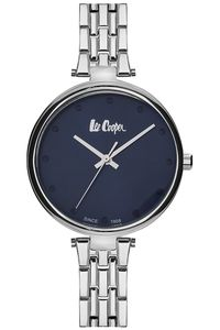 Women's Super Metal Band Watch - LC06329, blue, silver, silver