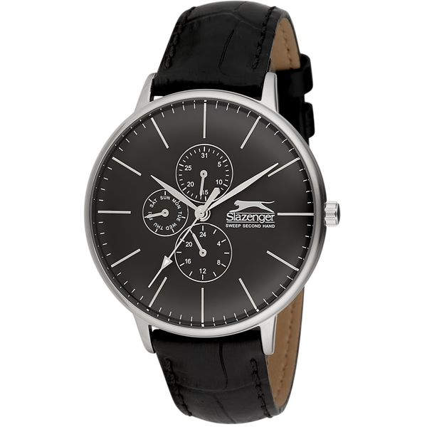 Men s Leather Band Watch - SL. 9.6052