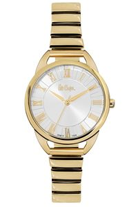 Women 's Super Metal Band Watch - LC06387, silver, rose gold, rose gold