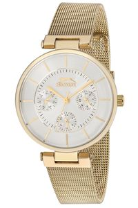 Women's Stainless Steel Band Watch - SL. 9.6013, gold, silver, gold