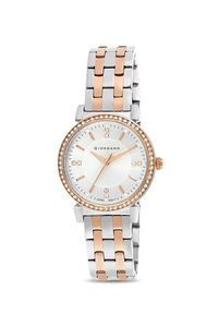 Giordano Women's Watch Analog Display- 2904-44, two tone rose gold, silver