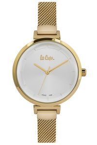 Women's Super Metal Band Watch - LC06558, silver, gold, gold