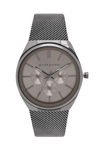 Giordano Men's Watch Multi Function Display- 1841-55, grey, grey