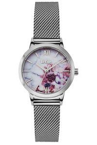 Women's Super Metal Band Watch -LC06666, white, silver, silver