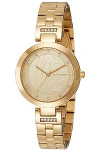 Giordano Women's's Watch Analog Display- 2784-22, gold, gold