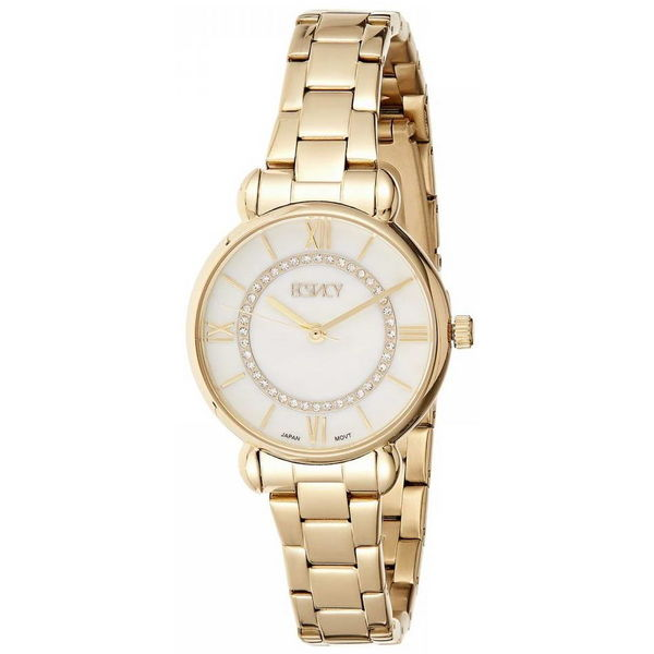 Ecstacy Women s Stainless Steel Band Watch E8505-GBGS