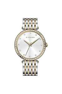 Giordano Women's's Watch Analog Display-2792-55, tt gold, silver