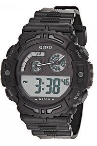 Astro Kids Black Plastic Watch - A8907-PPBB, black, black, black