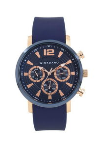 Giordano Men's Watch Multi Function Display- 1829-03, blue, blue