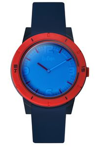 Men's Resin Band Watch -LC06500, blue, blue, blue