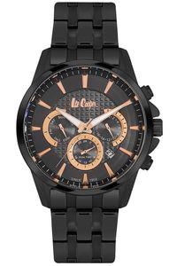 Men's Super Metal Band Watch -LC06437, black, black, black