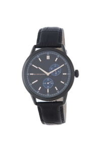 Giordano Men's Watch Chronograph Display- 1877-01, black, black