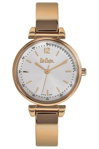 Women's Super Metal Band Watch -LC06586, white, rose gold, rose gold