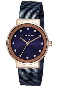 Giordano Women's's Watch Analog Display- 2832-66, blue, blue
