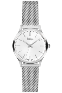 Women's Super Metal Band Watch - LC06301, silver, silver, silver
