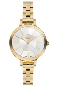 Women's Super Metal Band Watch -LC06175, silver, gold, gold