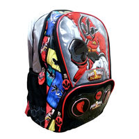 Genius Power Rangers School Bag