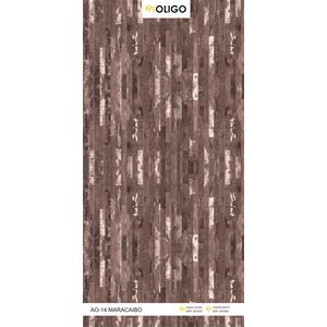 ALSTONE OLIGO WOOD POLYMER COMPOSITE BOARD (8 x 4 FEET) - MARACAIBO, both side, gloss, 6 mm