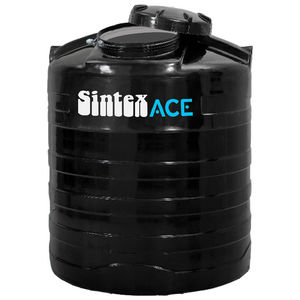 SINTEX ACE BLACK WATER TANK DOUBLE LAYER, 1000 ltr