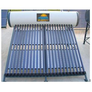 THESAN ENERGY - ETC SOLAR WATER HEATER (GLASS TUBE), 500 lpd compact