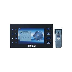 ZICOM 7.0 VDP TOUCH PAD WITH AV RECORDING BLACK