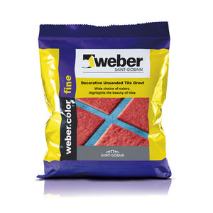 WEBER. COLOR FINE - JOINT FILLERS (1KG), grey