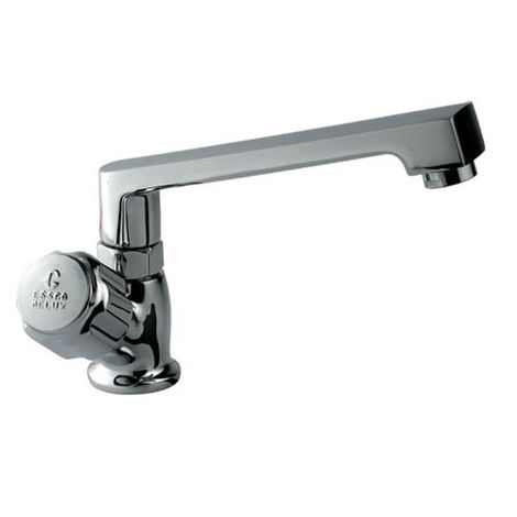 ESSCO DELUX FULL TURN - DLX-523 SINK COCK WITH SWINGING CASTED SPOUT WITH AERATOR