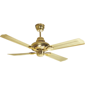 HAVELLS: SPECIAL FINISH FANS FLORENCE - 1200 MM SWEEP, nickel gold