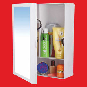 WATERTEC - BATHROOM CABINET WITH MIRROR 430 X 335L X 140W (MM)