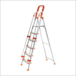 PEARL ALLUMINUM LADDER 6 STEPS WITH RAILING
