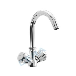 CERA OCEAN SERIES - F3001581 CENTRAL HOLE SINK MIXER TABLE MOUNTED WITH SWIVEL SPOUT