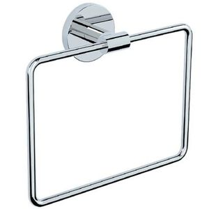 JAQUAR BATH ACCESSORIES CONTINENTAL SERIES - ACN-1121N TOWEL RING SQUARE WITH ROUND FLANGE
