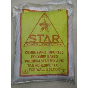 STAR TILE ADHESIVE - 20 KG BAG