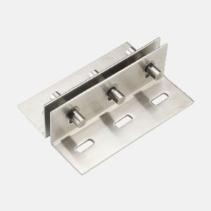 ONYX FIN PLATE FITTING S. S. 304 - TWO POINT HOLDER 200MM