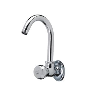 CERA OCEAN SERIES - F2006251 SINK COCK WALL MOUNTED WITH SWINGING CASTED SPOUT