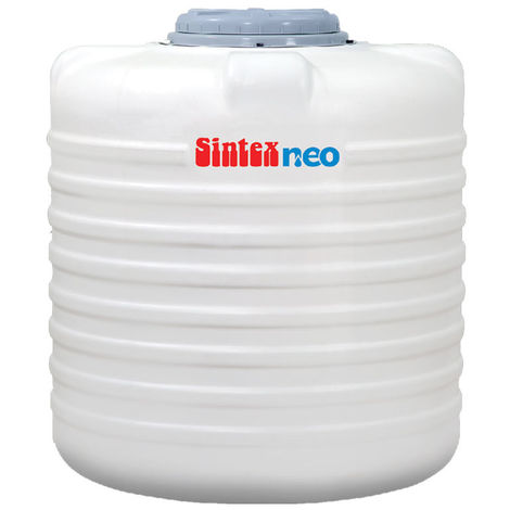 SINTEX NEO BLACK WATER TANK DOUBLE LAYER, 300 ltr