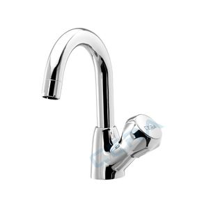 CERA OCEAN SERIES - F2006105 SWAN NECK TAP WITH ROUND SPOUT (RIGHT)