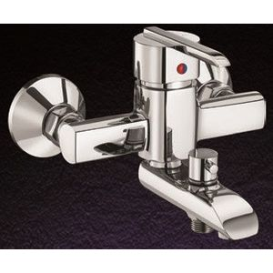 ESSESS: D SERIES DS10 Single lever Wall Mixer with Tel. shower Argmnt