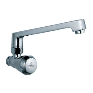 ESSCO MARVEL QUARTER TURN - MQT-522 SINK COCK WITH SWINGING CASTED SPOUT WITH AERATOR