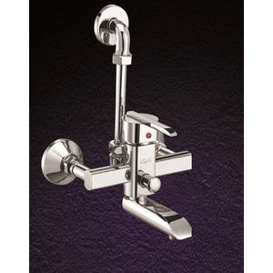 ESSESS: D SERIES DS20 SINGLE LEVER WALL MIXER WITH BEND PIPE