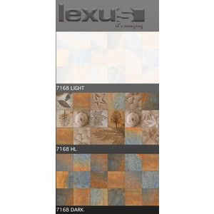 LEXUS 300 X 600 DIGITAL MATT WALL TILES - 7168, highlighter