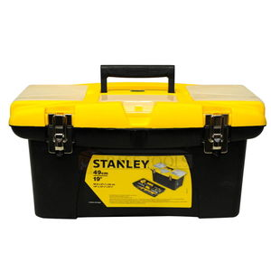 STANLEY TOOLS STORAGE - PLASTIC TOOL BOX, 485x 270x237MM