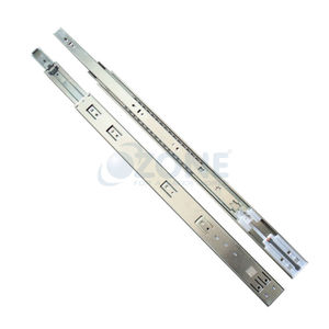OZONE ERGOTEC DRAWER SLIDES - SOFT CLOSE BALL BEARING (TELESCOPIC), 450mm