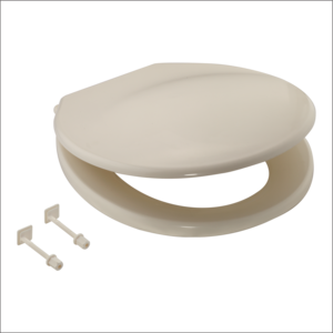 PEARL SEAT COVER - HYDRAULIC REGULAR(EWC),  ivory