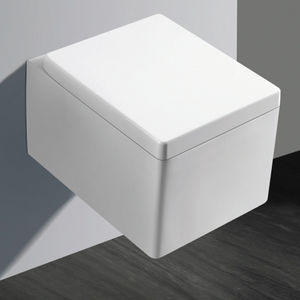 AQUANT PREMIUM WALL HUNG - 1815 WITH UF SEAT COVER,  white