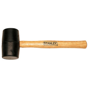 STANLEY STRIKING TOOLS - RUBBER MALLET HAMMER 450GM