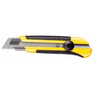 STANLEY CUTTING TOOLS - DYNAGRIP SNAP-OFF KNIFE, LEBGTH 180MM, BLADE SIZE 25MM