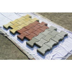 FALCON DESIGN HEAVY DUTY PAVER BLOCK (60MM THICKNESS), grey